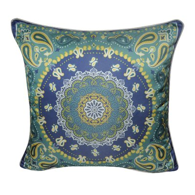 Satin Batique Decorative Throw Pillow