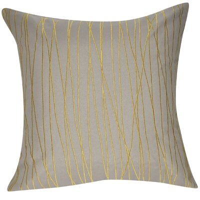 Branch Throw Pillow Color: Dark Tan