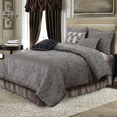 Madison 7 Piece Comforter Set Size: King