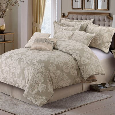 Stella 7 Piece Comforter Set Size: King