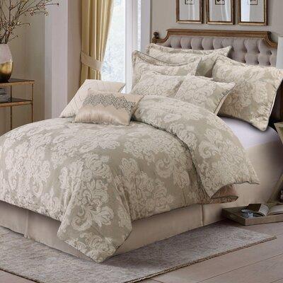 Stella 7 Piece Comforter Set Size: Queen