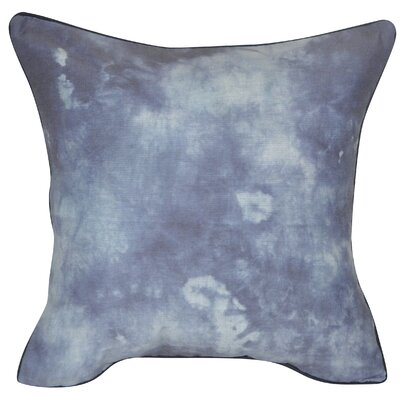 Tie-Dye Sky Polyster Throw Pillow