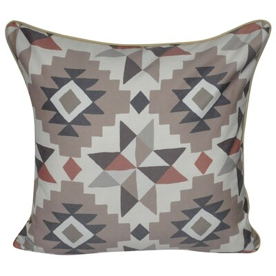 Southwest Star Polyster Throw Pillow Color: Brown