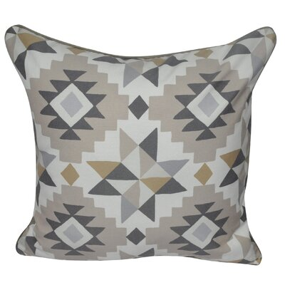 Southwest Star Polyster Throw Pillow Color: Tan
