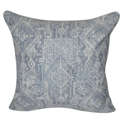 Denim Southwest Polyster Throw Pillow Color: Denim