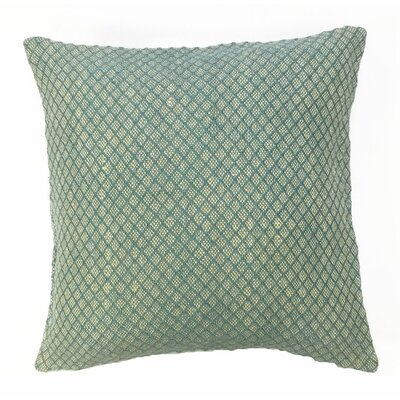 Mirabella Throw Pillow Color: Horizon Blue