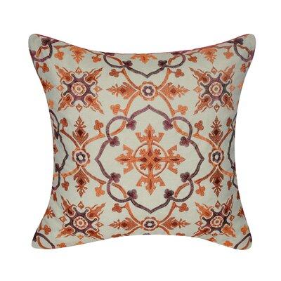 Walworth Decorative Throw Pillow Color: Orange