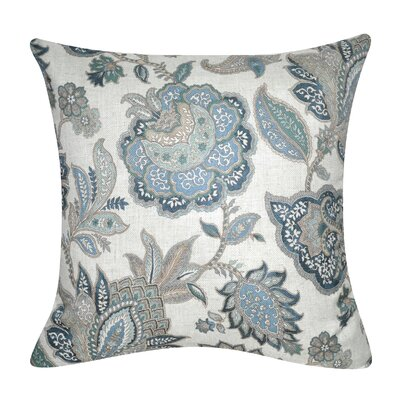 Buncombe Floral Paisley Throw Pillow