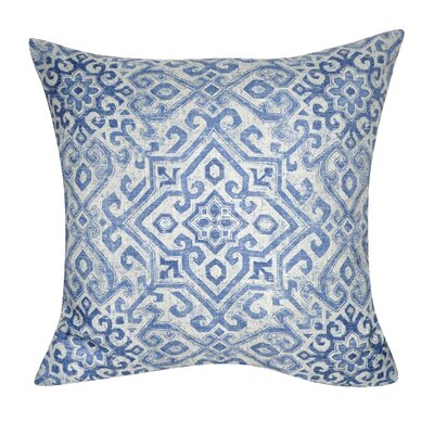 Fernwood Distressed Tile Throw Pillow