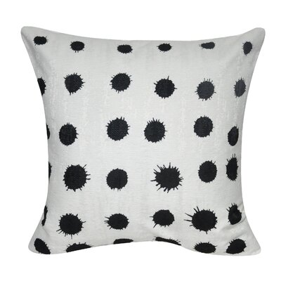 Stockwell Blotch Polka Dot Throw Pillow