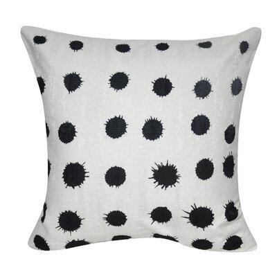 Stockwell Blotch Polka Dot Throw Pillow
