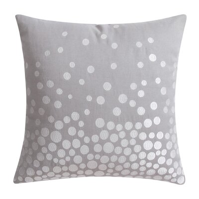 Fading Circles Decorative Throw Pillow Color: Gray