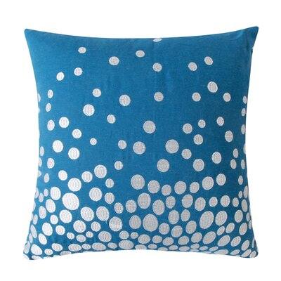 Fading Circles Decorative Throw Pillow Color: Dark Blue