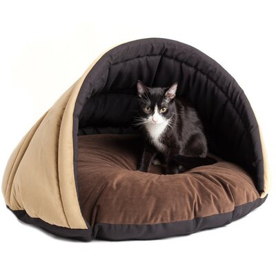 Eskimo Cozy Pet Bed Size: Small, Color: Olive