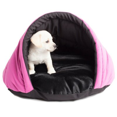 Finley Cozy Pet Bed Size: Small, Color: Pink