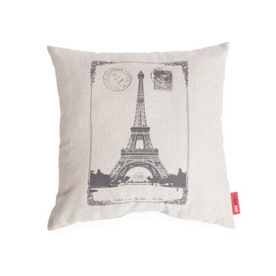Luxury Paris  Linen Throw Pillow