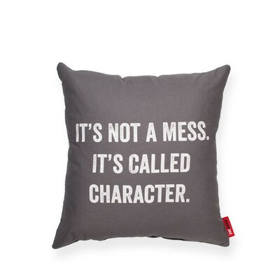 Expressive Its Not a Mess Throw Pillow