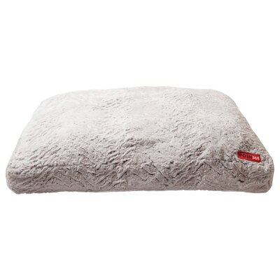 Luxury Faux Fur Cushion Dog Bed Size: Large