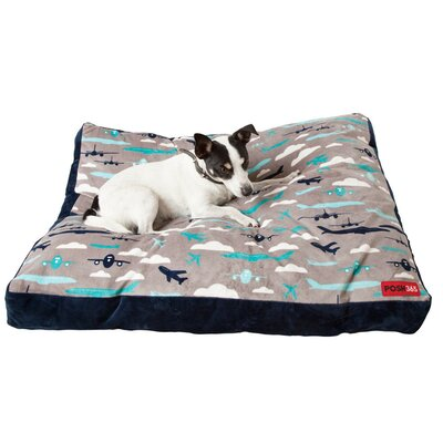 Luxury Eco-friendly Aviation Cushion Dog Bed Size: Large
