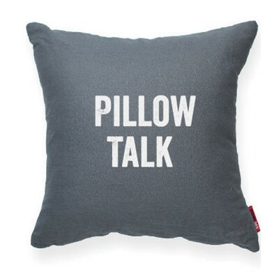 Expressive Pillow Talk Decorative Throw Pillow