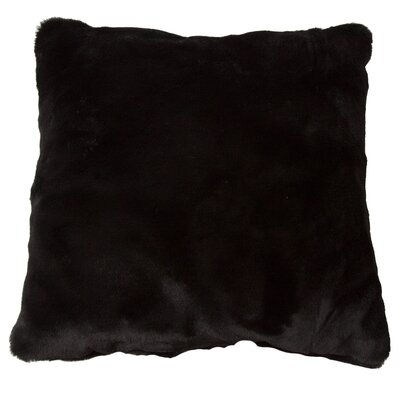 Luxury Decorative Faux Fur Throw Pillow