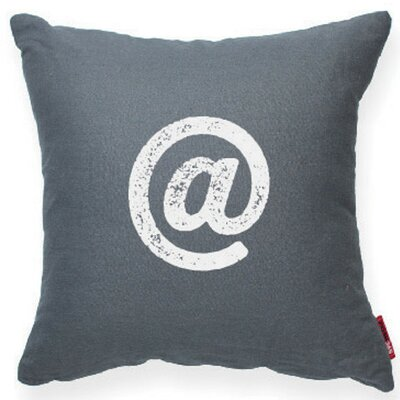 Symbol @ Decorative Throw Pillow