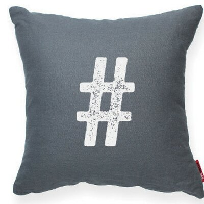 Symbol # Decorative Throw Pillow