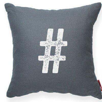 Symbol # Decorative Throw Pillow