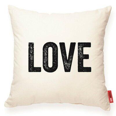 Expressive Love Decorative Cotton Throw Pillow
