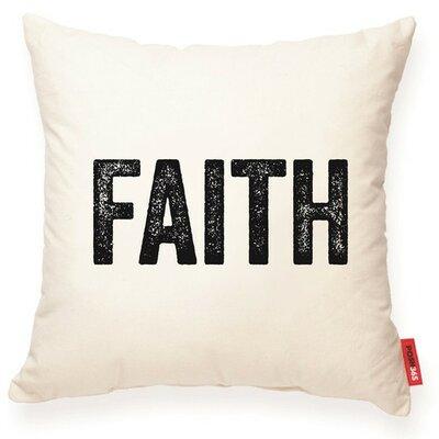 Expressive Faith Decorative Cotton Throw Pillow