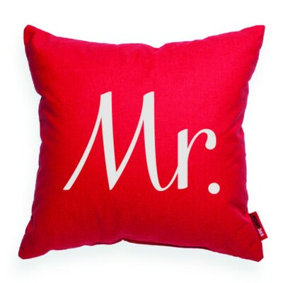 Expressive Mr Decorative Throw Pillow
