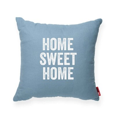 Expressive Home Sweet Home Decorative Throw Pillow