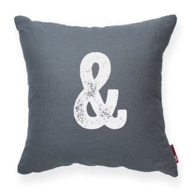 Dolton Ampersand Decorative Throw Pillow
