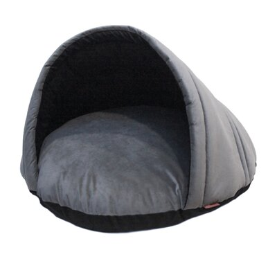 Finley Cozy Pet Bed Size: Large, Color: Gray