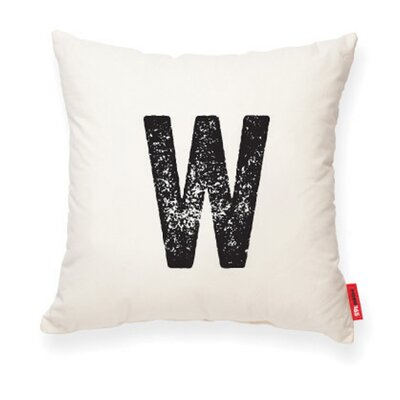 Expressive W Decorative Pillow Color: Muslin