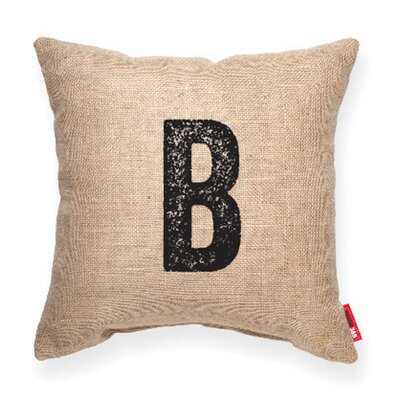 Expressive B Decorative Pillow Color: Burlap