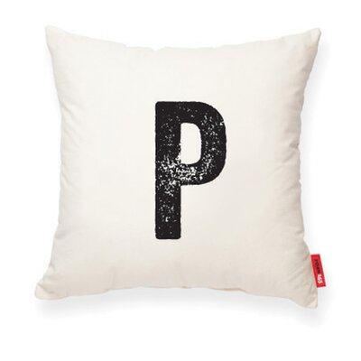 Expressive P Decorative Pillow Color: Muslin