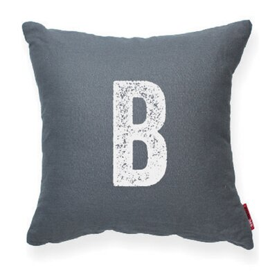 Domaine B Decorative Pillow Color: Gray