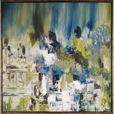 'Summer Pond I' Framed Painting