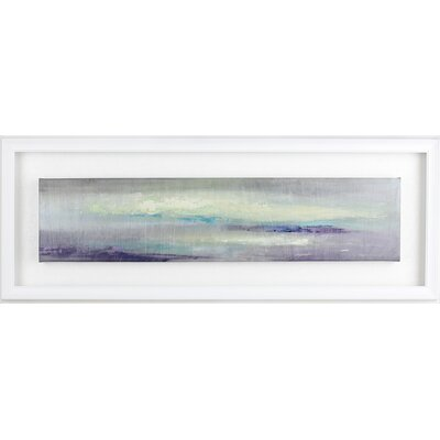 Calm Morning I by I. Kite Framed Painting Print on Wrapped Canvas