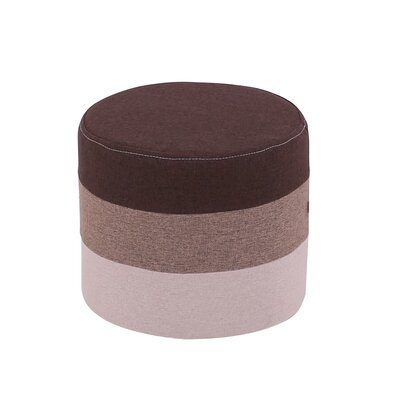 Reber Pouf Upholstery: Brown