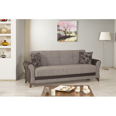 STARLIGHT:brown-sofa KLDF1001 Casamode Functional Furniture Starlight Convertible Sofa