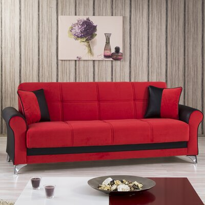 URBAN STYLE:red-sofa KLDF1000 Casamode Functional Furniture Urban Convertible Sofa