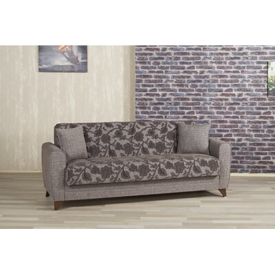 Anatolia-BROWN KLDF1007 Casamode Functional Furniture Anatolia Futon Convertible Sleeper Sofa