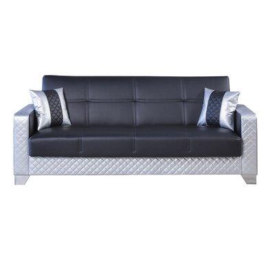 Maximum Leather Sleeper Sofa Color Gold