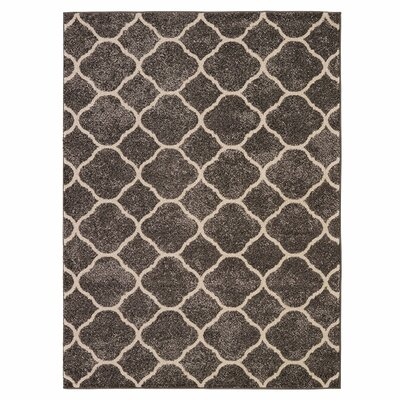 Attah Dark Gray Area Rug
