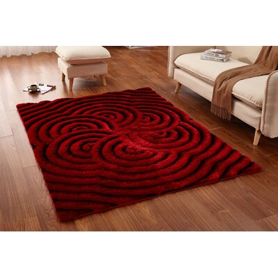 Regina Red/Black Area Rug