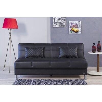 Zen Eco Rest Convertible Sofa Finish: Black