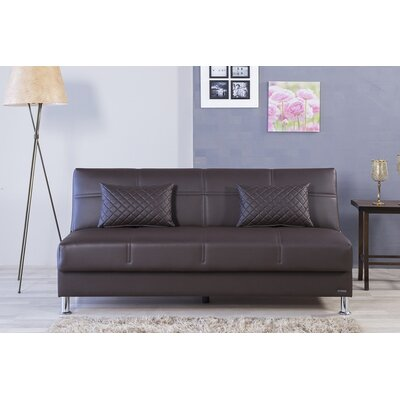 Zen Eco Rest Convertible Sofa Finish: Brown