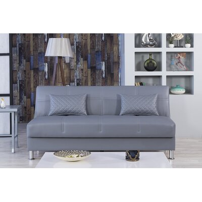 Zen Eco Rest Convertible Sofa Finish: Gray